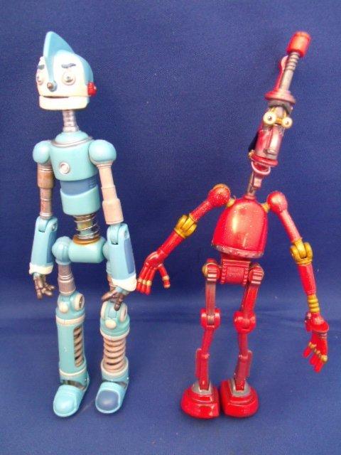 "Disney's ""Robots"" Rodney Copperbottom and Fender"