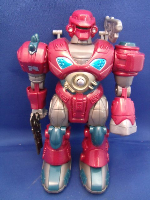 "M.A.R.S.  ""Revo Red"" toy robot"