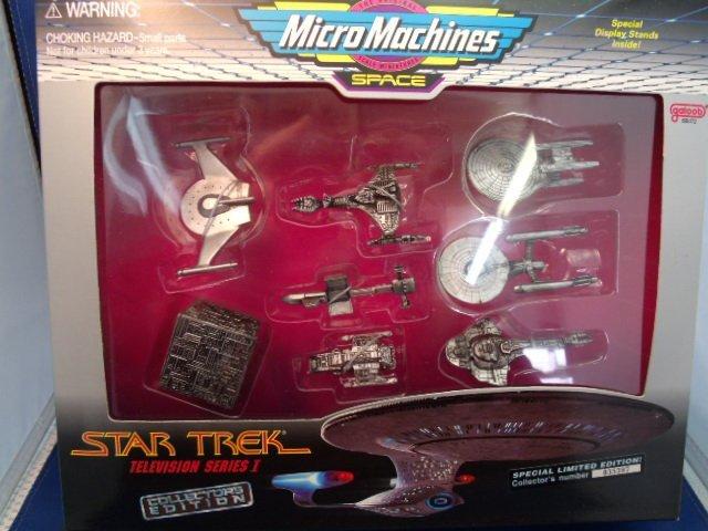 1995 Star Trek Micromachines Collectors Edition