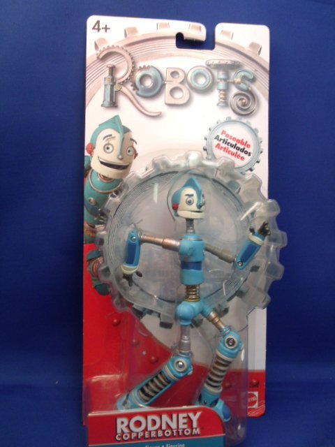 "7"" Mattel ""Robots"" Rodney Copperbottom"