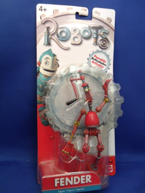 "7"" Mattel ""Robots"" Fender figure"