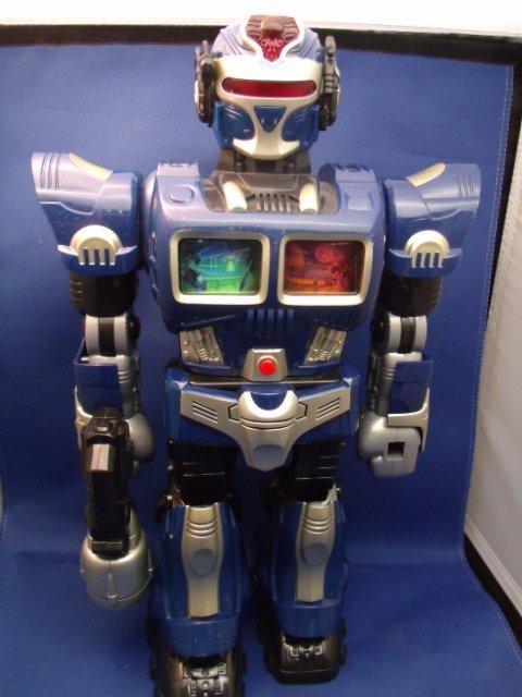 "14-3/4"" tall Blue cosmic Robot"