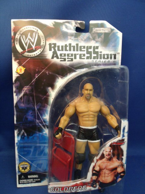"7"" tall WWE ""Goldberg"" Action Figure"