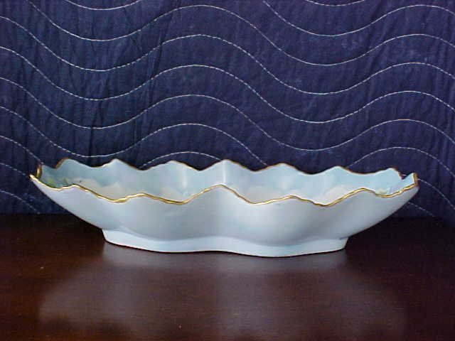 Signed Pearl Carson 1986 handpainted dish
