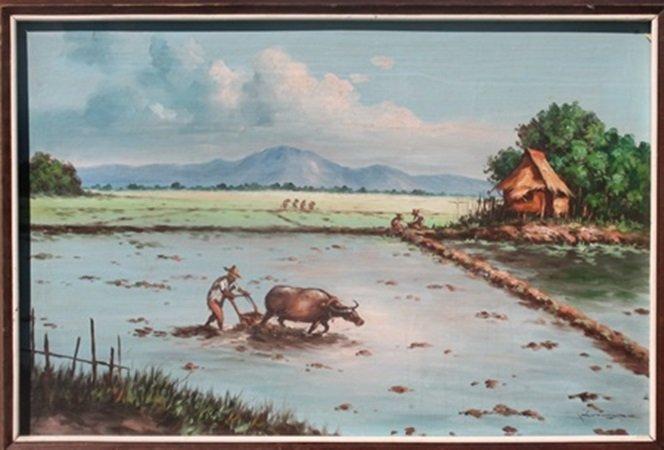 Original Acrylic on Canvas (1O)