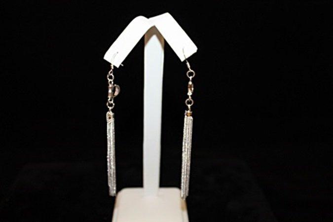 Elegant Dior Silver Earrings (2E)