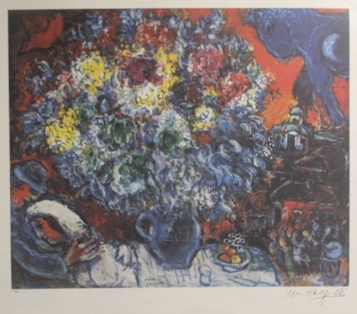 Lithograph After  Marc Chagall (2L)