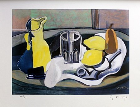 Lithograph After  Georges Braque (4E)