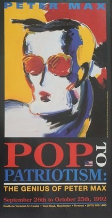 "Pop to Patriotism: ""Neo Fauve Head - 1992"" after Peter"