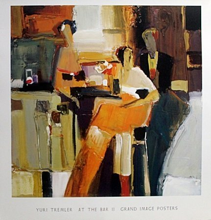 "Print ""At the Bar II"" After Yuri Tremler (3A)"