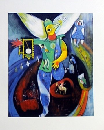 Lithograph After  Marc Chagall (47E)