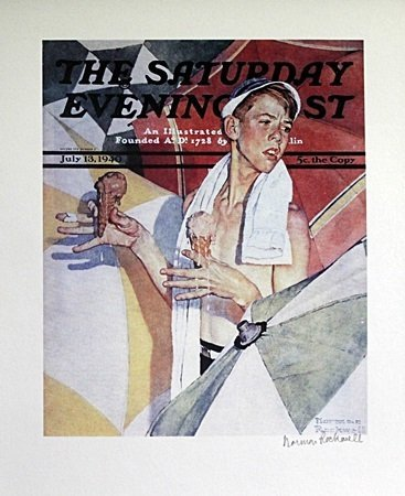 Lithograph After Norman Rockwell (64A)