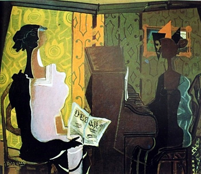 """Music Lesson"" after Georges Braque (374)"