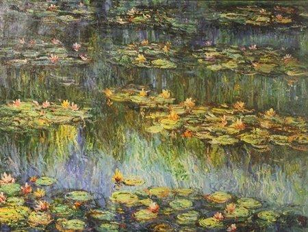 Original Oil on Canvas by P. Pilon (15H)