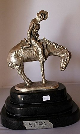 The Norther - .999 Silver Sculpture - Old Cast Frederic