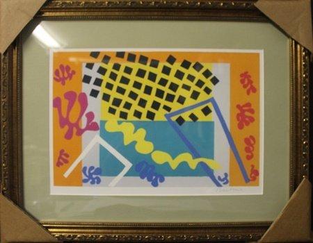 Lithograph After  Henri Matisse (3F)