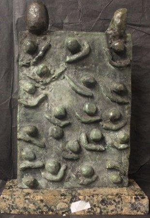 Patina Bronze Sculpture after Joan Miro(3HS)