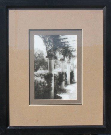 "Framed Photograph ""Pillars"" (11O)"