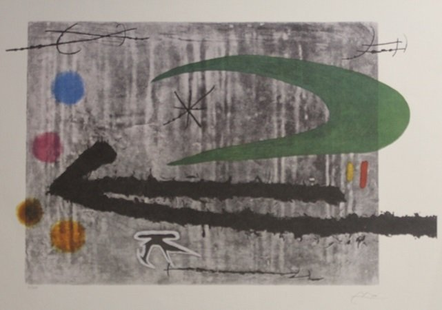 Lithograph After  Joan Miro (12L)