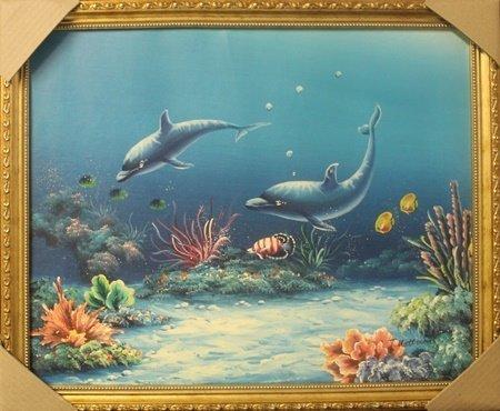 Original Oil on Canvas by T. Mattirson (14H)
