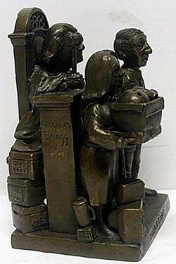 "Bronze ""Divource Court"" - Charles Bragg - 2"
