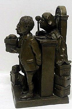 "Bronze ""Divource Court"" - Charles Bragg - 3"