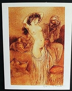 "Lithograph ""Seductive Dance"" after Louis Icart"