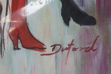 Oil Painting on Canvas; Signed Duford - 2