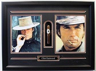Clint Eastwood - Custom Framed Photos with Cigar