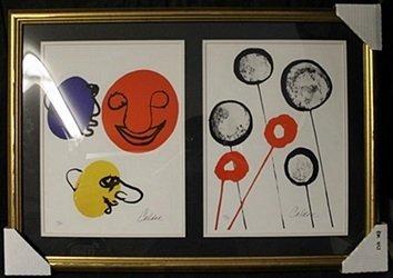Lithographs 2-in-1 by Alexander Calder