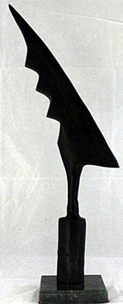 Bronze - Thunderbolt Sculpture - Constantin Brancusi