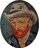 Oil Painting on Canvas - (SelfPortrait) Vincent Van