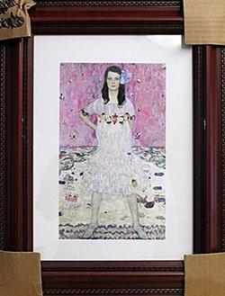 "Framed Serigraph, ""Portrait of Mada Primavesi"" by"