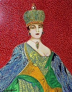 """""""Empress, Catherine the Great"""" Original by William"""