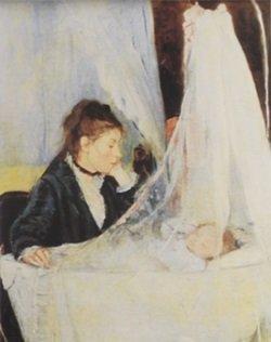 Lithograph The Cradle, 1872 - Claude Monet