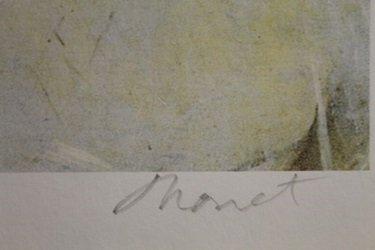 Lithograph The Cradle, 1872 - Claude Monet - 2