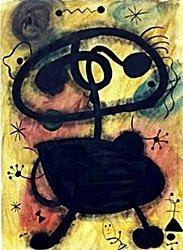 Composition 55' - Oil on Paper - Gino Severini