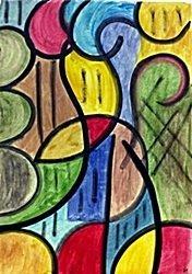 The Boy 1961' - Oil on Paper - Joan Miro