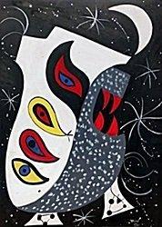 Head 1970' - Oil on Paper - Rufino Tamayo