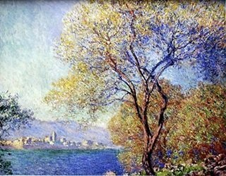 """""""View of Salis"""" by Claude Monet"""
