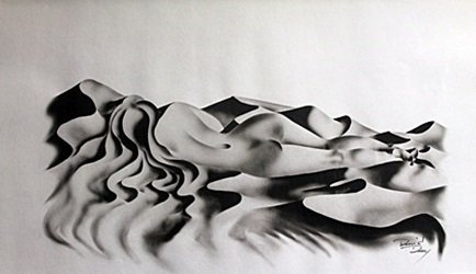 Lithograph Shy - David Dory