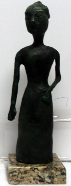 Patina Bronze Sculpture after Joan Miro