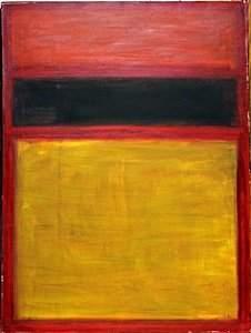 No 11 - Oil Painting on Canvas - Mark Rothko 59'