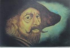 Original Lithograph by William Verdult