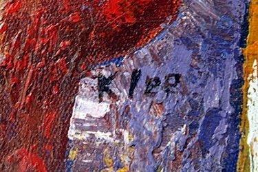Acrylic on Canvas by Paul Klee - 2