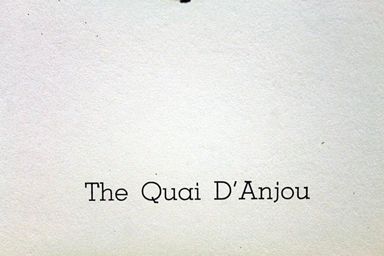 The Quai D'Anjou - Bernard Buffet - 3
