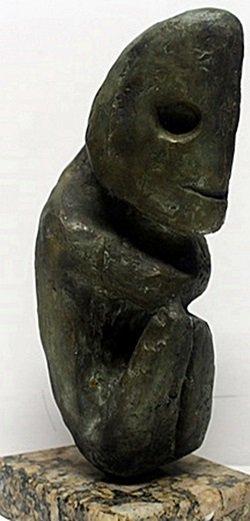 Bronze Sculpture - Max Ernst