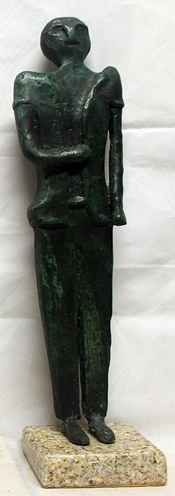 Patina Bronze Sculpture after Rufino Tamayo