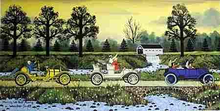 Lithograph - Merrily We Roll Along - Wooster Scott