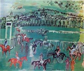 The Race Track 1928' - Raoul Dufy